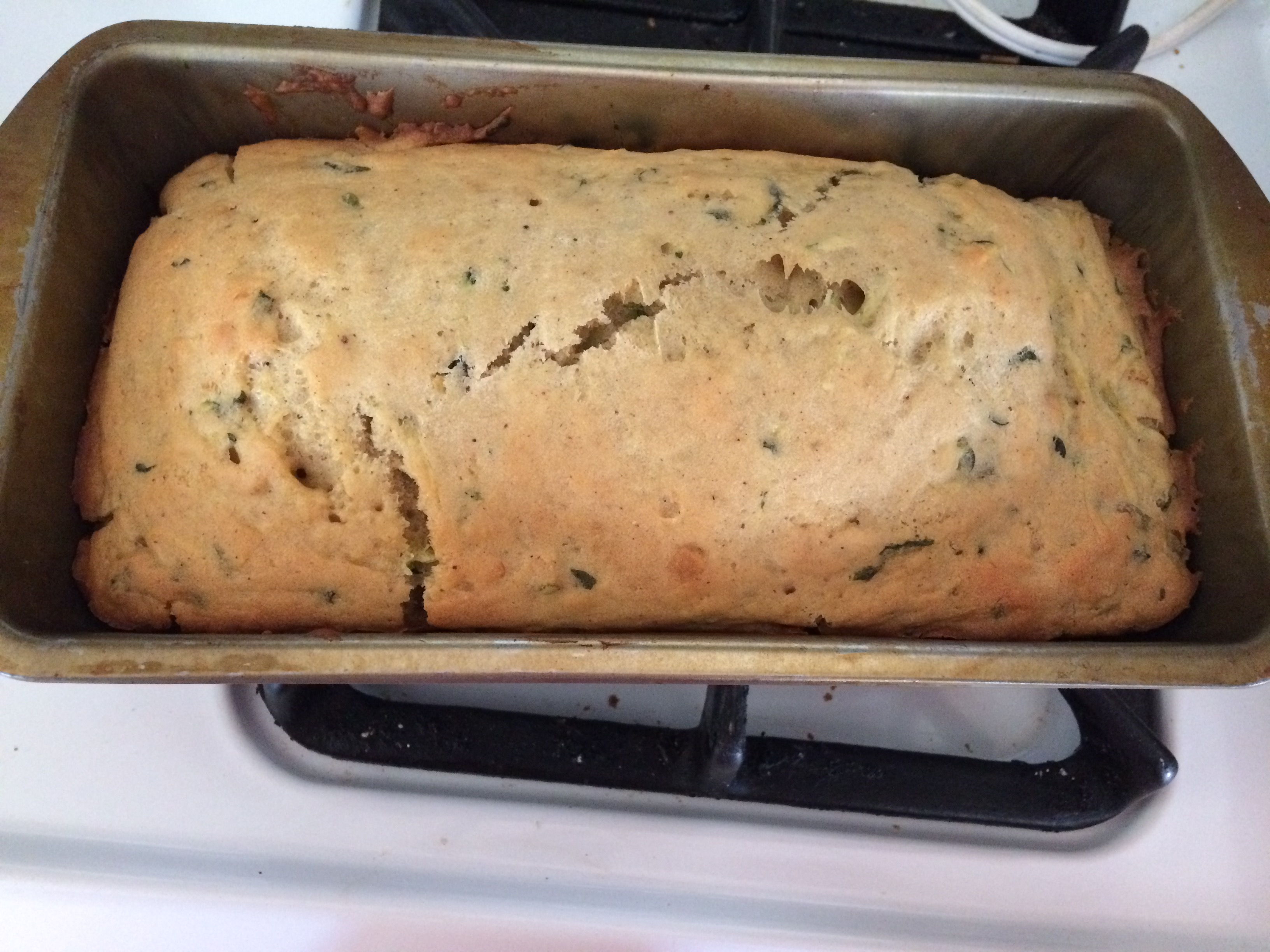 Apple Sauce Zucchini Bread- No Sugar Recipe