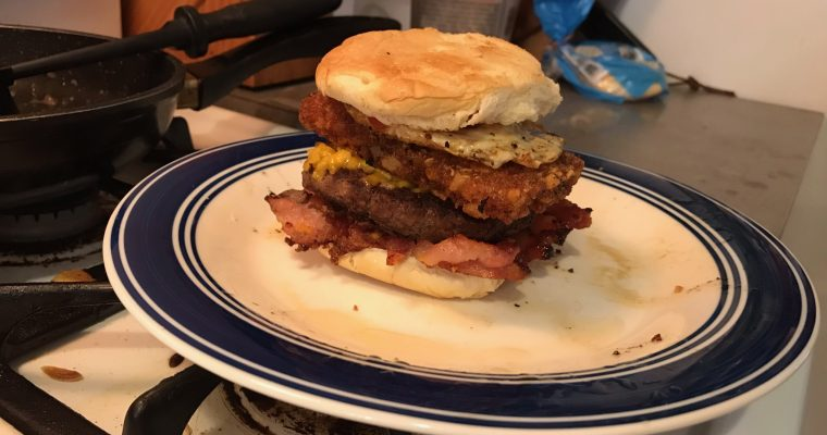 The Breakfast Burger